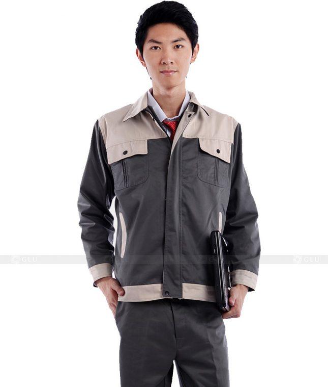 Dong phuc cong nhan GLU CN476 mẫu áo công nhân