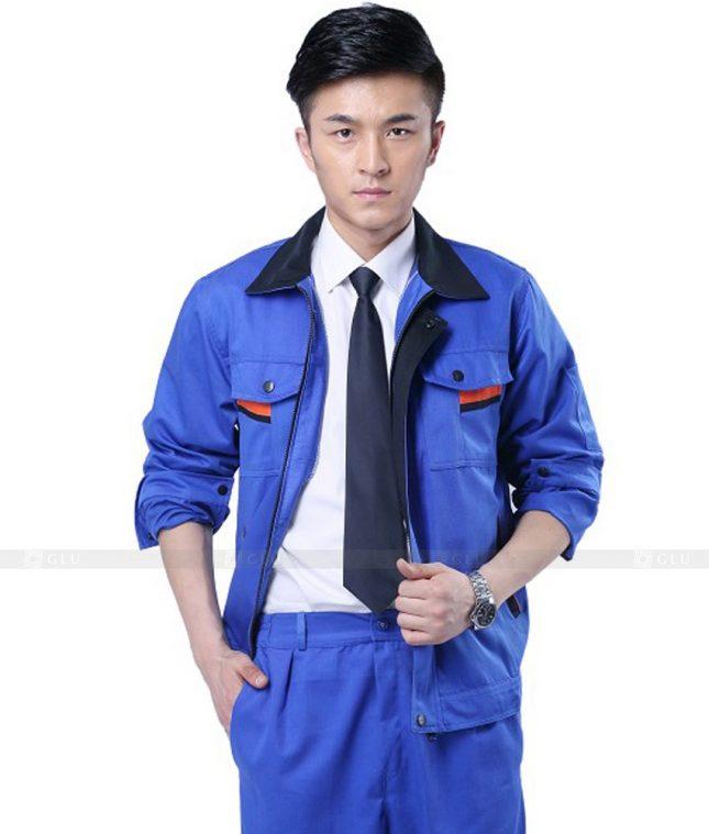 Dong phuc cong nhan GLU CN481 mẫu áo công nhân
