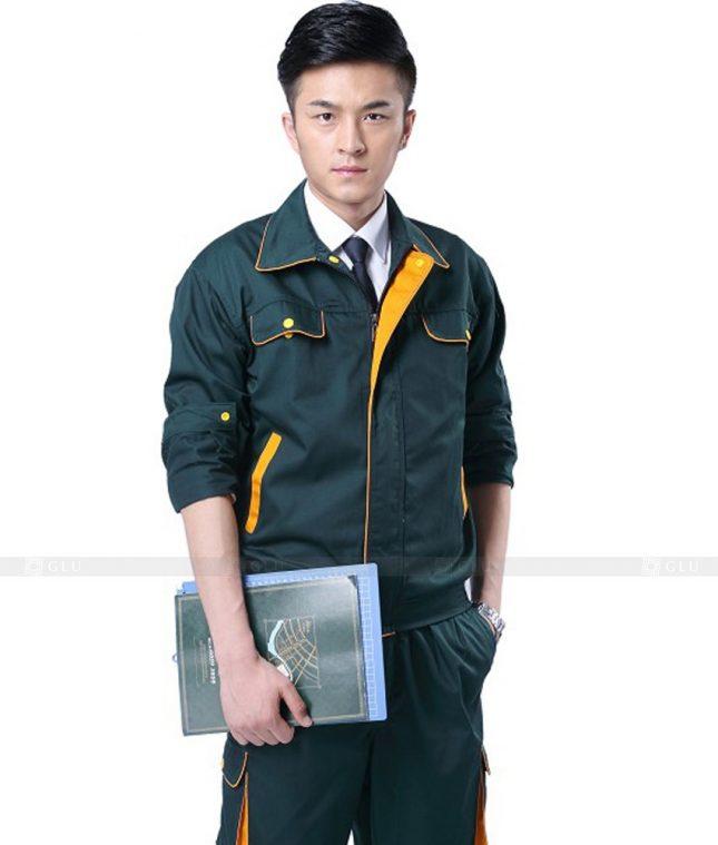 Dong phuc cong nhan GLU CN482 mẫu áo công nhân