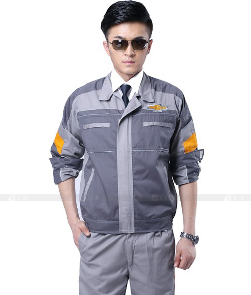 Dong phuc cong nhan GLU CN484