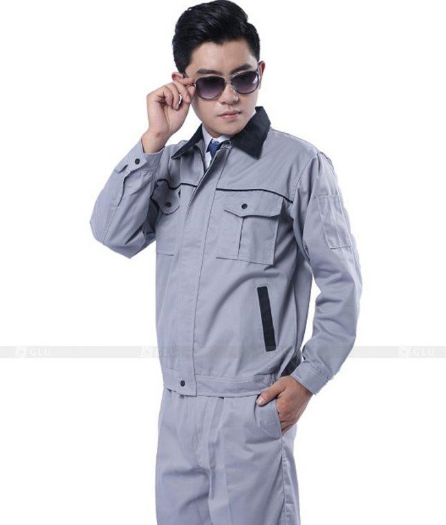 Dong phuc cong nhan GLU CN485 mẫu áo công nhân