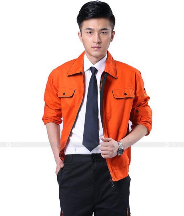 Dong phuc cong nhan GLU CN486 mẫu áo công nhân