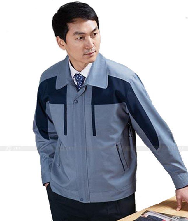 Dong phuc cong nhan GLU CN488 mẫu áo công nhân