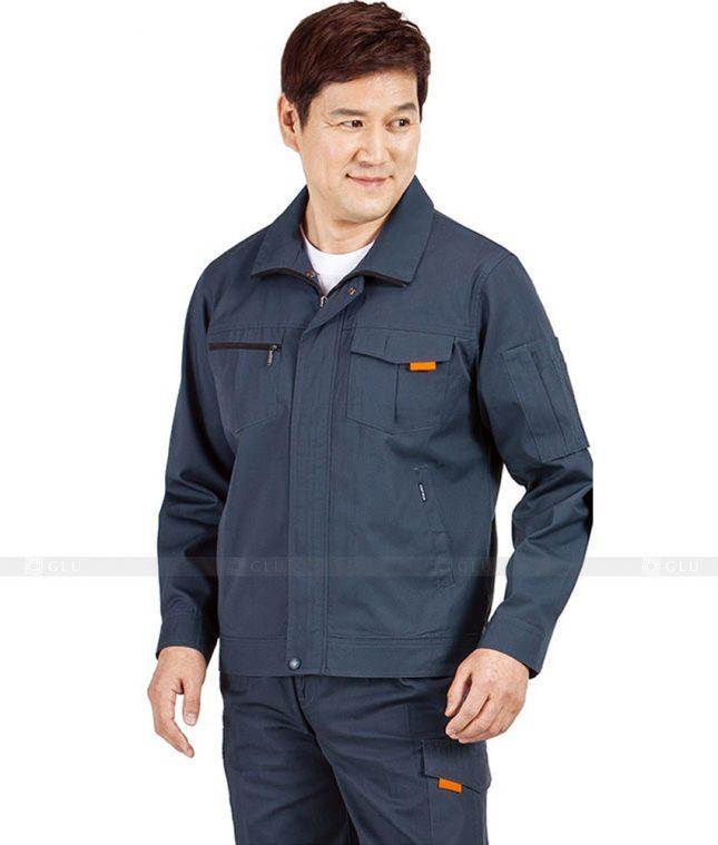 Dong phuc cong nhan GLU CN499 mẫu áo công nhân