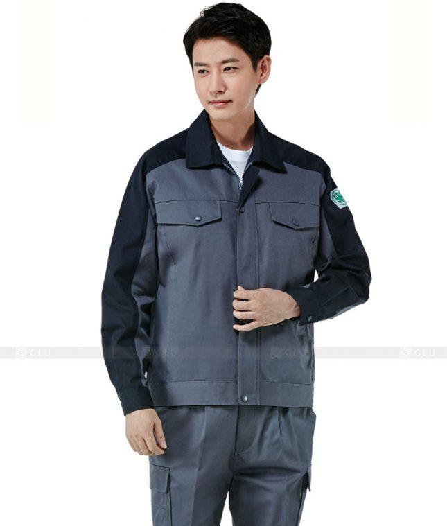 Dong phuc cong nhan GLU CN502 đồng phục công nhân kĩ thuật