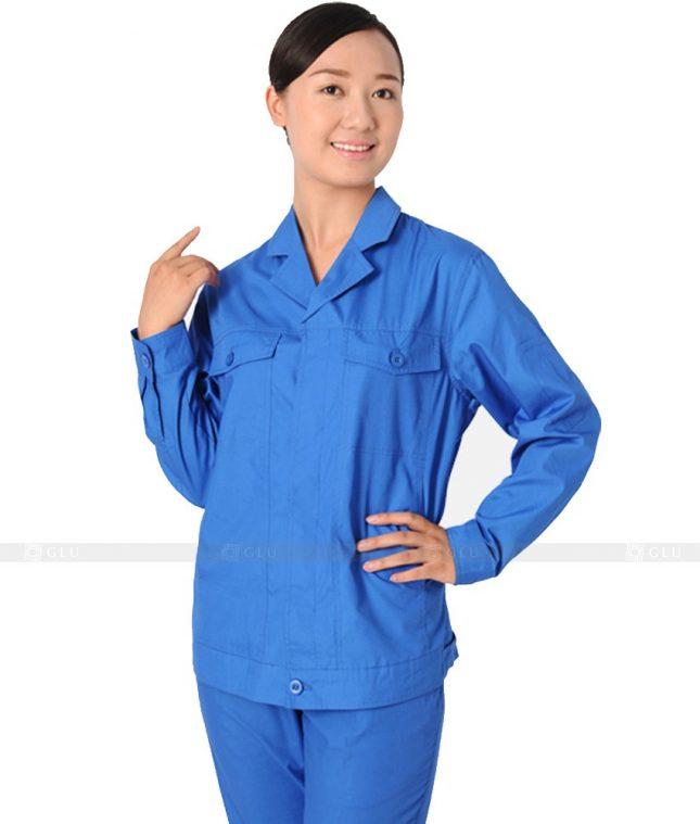 Dong phuc cong nhan GLU CN503 đồng phục công nhân kĩ thuật