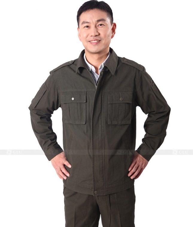 Dong phuc cong nhan GLU CN504 đồng phục công nhân kĩ thuật