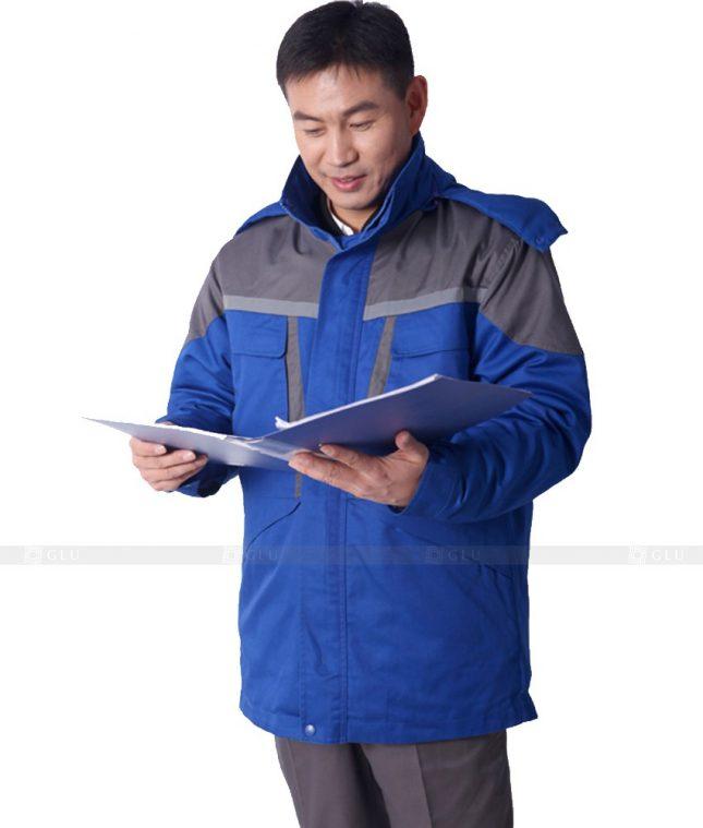 Dong phuc cong nhan GLU CN505 đồng phục công nhân kĩ thuật