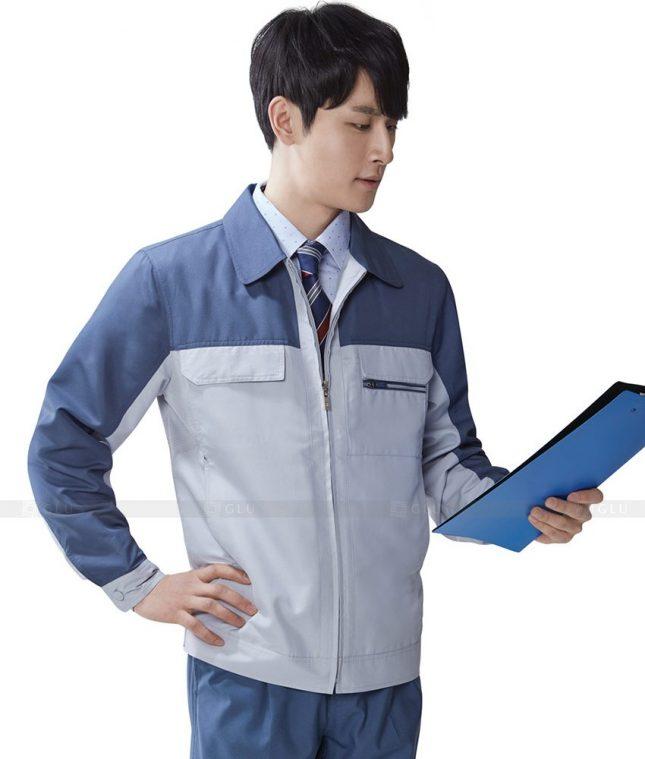 Dong phuc cong nhan GLU CN509 đồng phục công nhân kĩ thuật