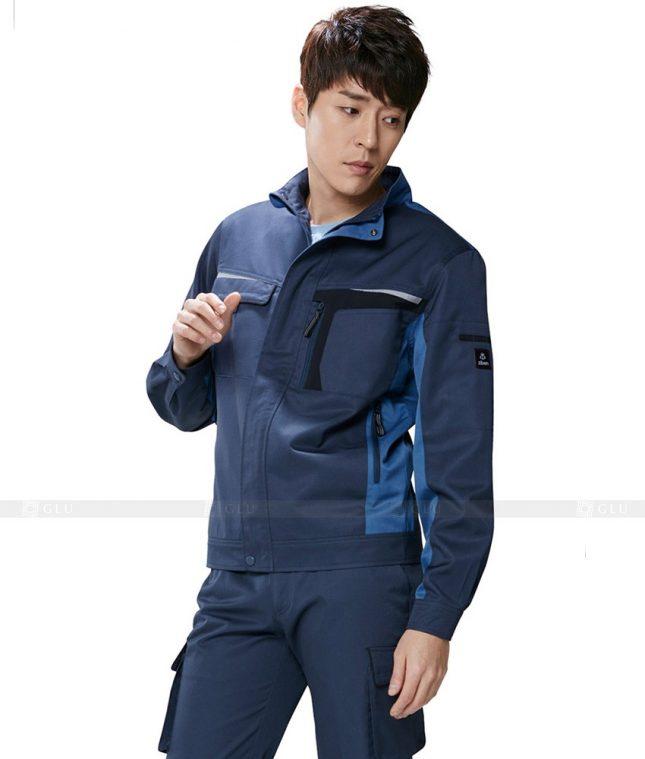 Dong phuc cong nhan GLU CN511 đồng phục công nhân kĩ thuật