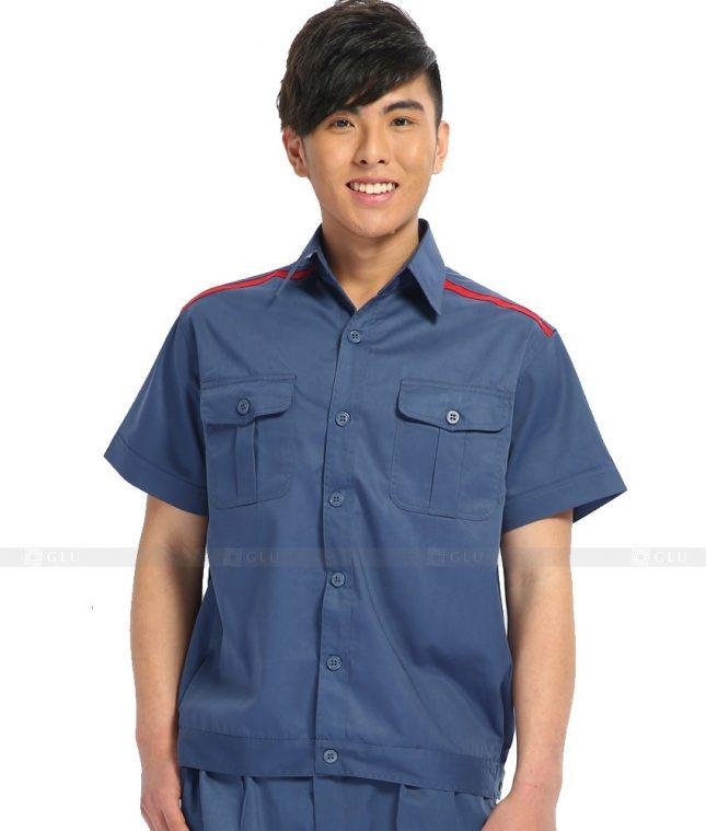 Dong phuc cong nhan GLU CN513 đồng phục công nhân kĩ thuật