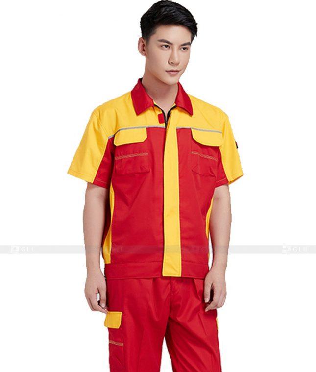Dong phuc cong nhan GLU CN514 đồng phục công nhân kĩ thuật
