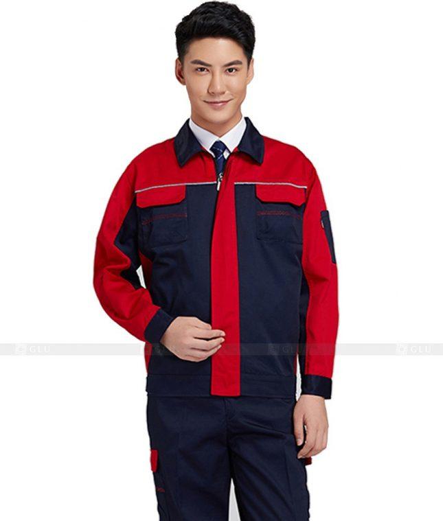 Dong phuc cong nhan GLU CN516 đồng phục công nhân kĩ thuật