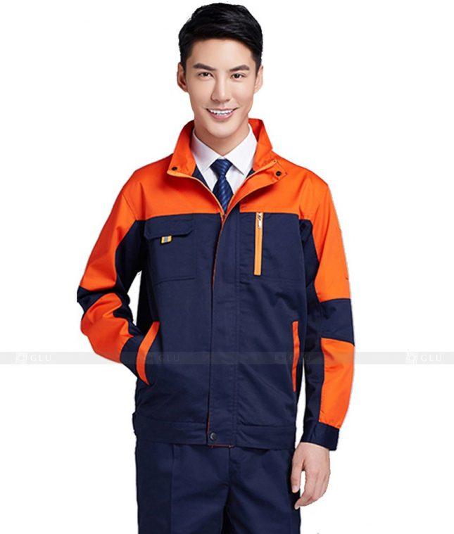 Dong phuc cong nhan GLU CN517 đồng phục công nhân kĩ thuật