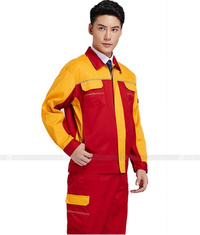 Dong phuc cong nhan GLU CN518 đồng phục công nhân kĩ thuật