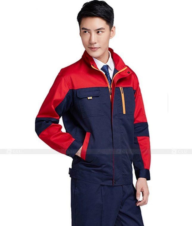 Dong phuc cong nhan GLU CN519 đồng phục công nhân kĩ thuật