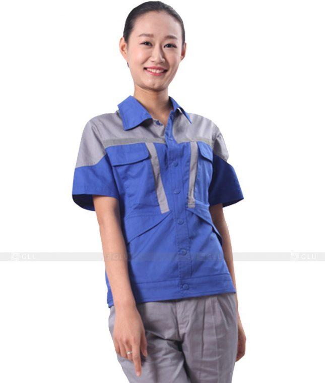 Dong phuc cong nhan GLU CN523 đồng phục công nhân kĩ thuật