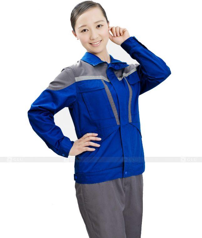 Dong phuc cong nhan GLU CN524 đồng phục công nhân kĩ thuật