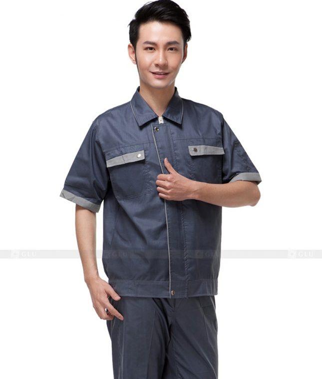 Dong phuc cong nhan GLU CN525 đồng phục công nhân kĩ thuật