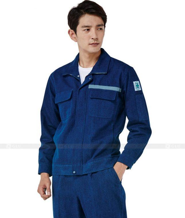 Dong phuc cong nhan GLU CN531 đồng phục công nhân kĩ thuật