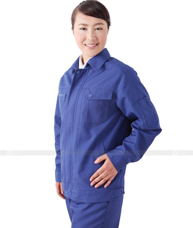 Dong phuc cong nhan GLU CN533 đồng phục công nhân kĩ thuật