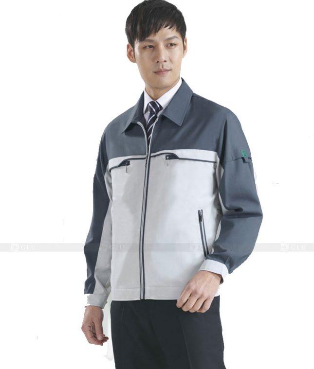 Dong phuc cong nhan GLU CN534 mẫu áo công nhân