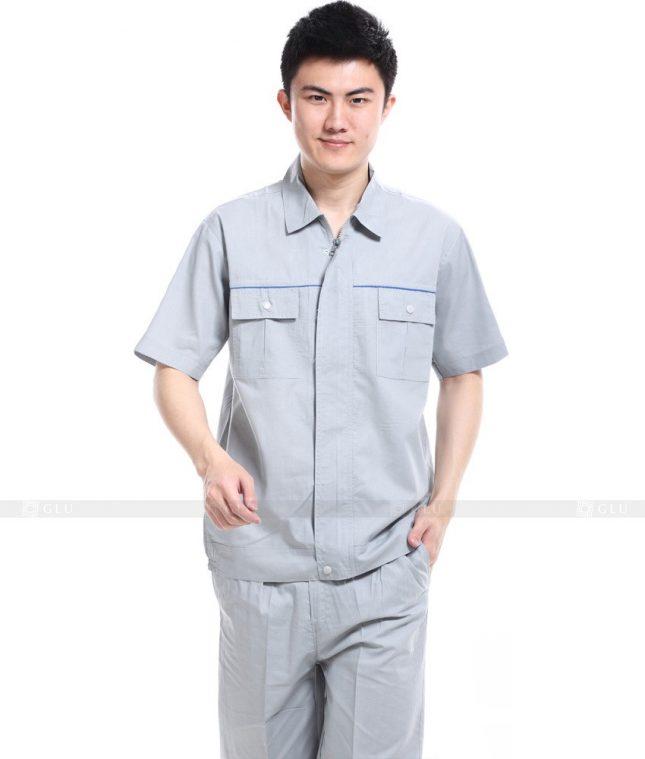 Dong phuc cong nhan GLU CN535 đồng phục công nhân kĩ thuật