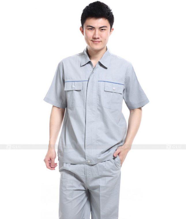 Dong phuc cong nhan GLU CN536 đồng phục công nhân kĩ thuật