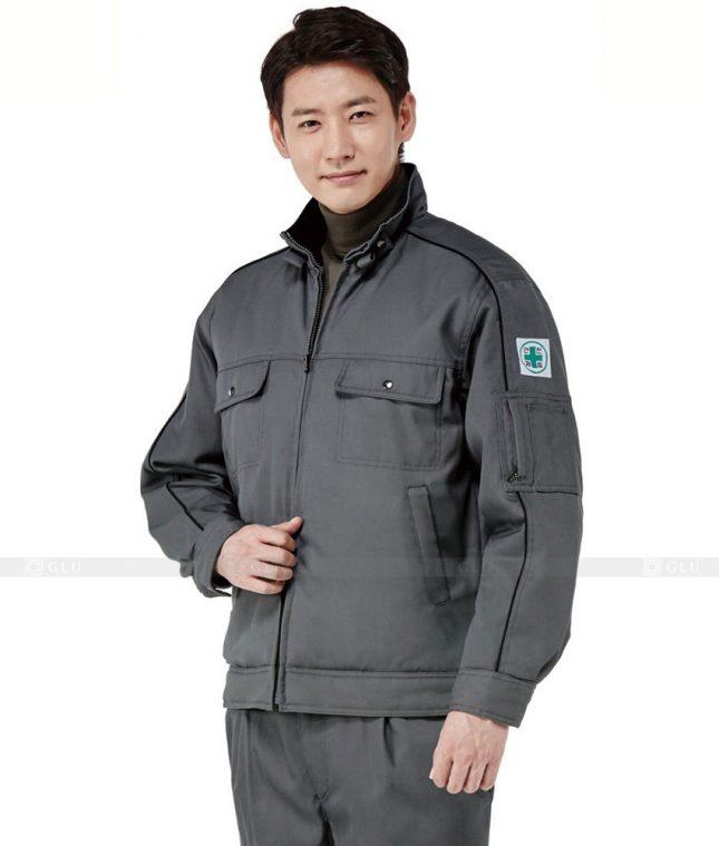 Dong phuc cong nhan GLU CN539 mẫu áo công nhân