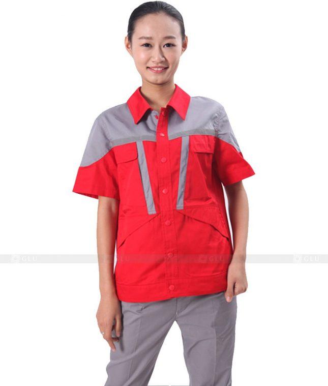 Dong phuc cong nhan GLU CN540 đồng phục công nhân kĩ thuật