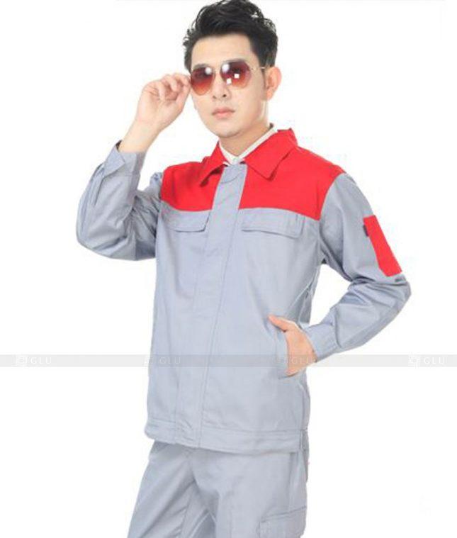 Dong phuc cong nhan GLU CN542 đồng phục công nhân kĩ thuật