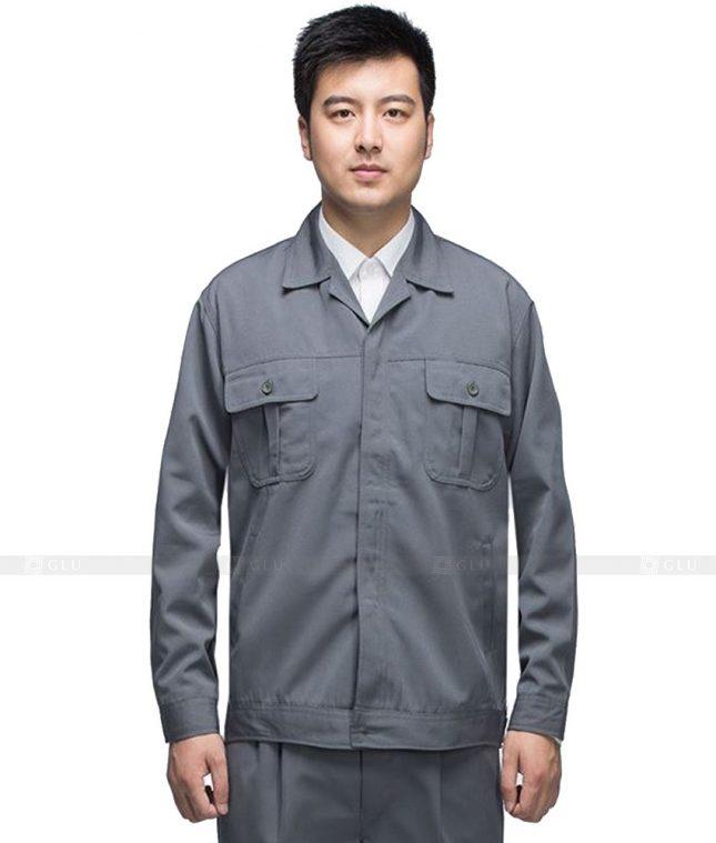 Dong phuc cong nhan GLU CN543 đồng phục công nhân kĩ thuật