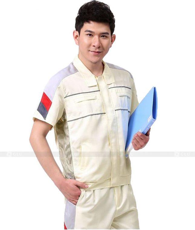 Dong phuc cong nhan GLU CN545 đồng phục công nhân kĩ thuật