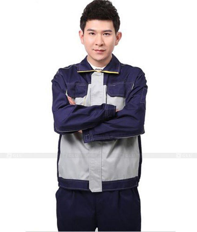 Dong phuc cong nhan GLU CN547 đồng phục công nhân kĩ thuật