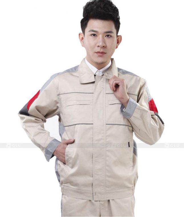 Dong phuc cong nhan GLU CN554 đồng phục công nhân kĩ thuật