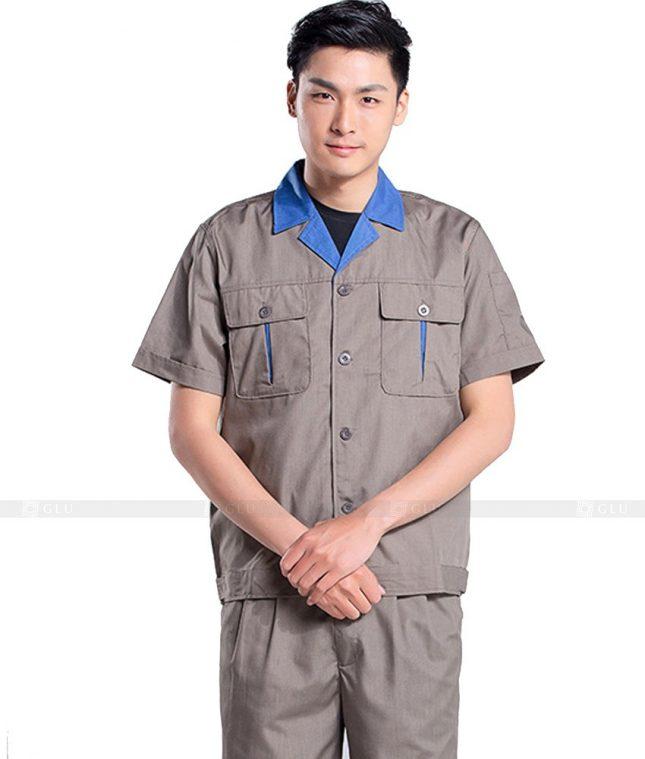 Dong phuc cong nhan GLU CN560 đồng phục công nhân kĩ thuật