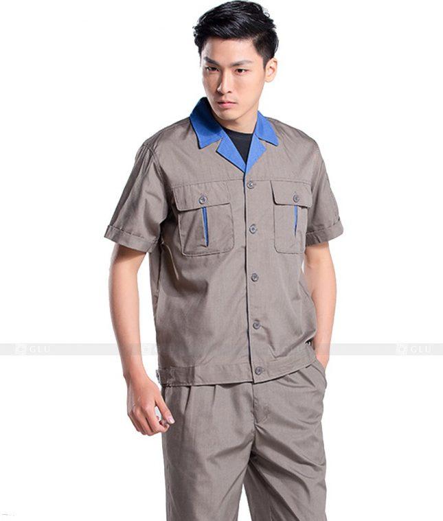 Dong phuc cong nhan GLU CN561 đồng phục công nhân kĩ thuật