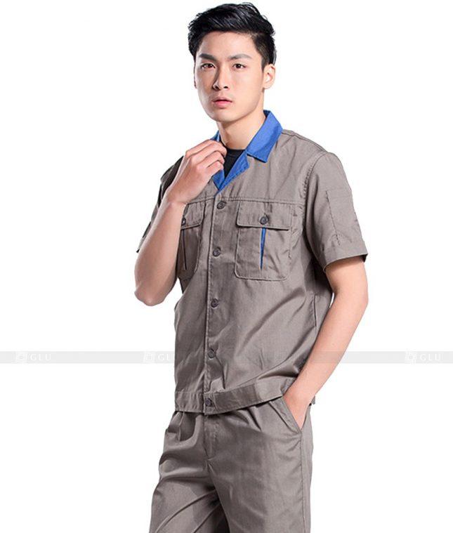 Dong phuc cong nhan GLU CN562 đồng phục công nhân kĩ thuật