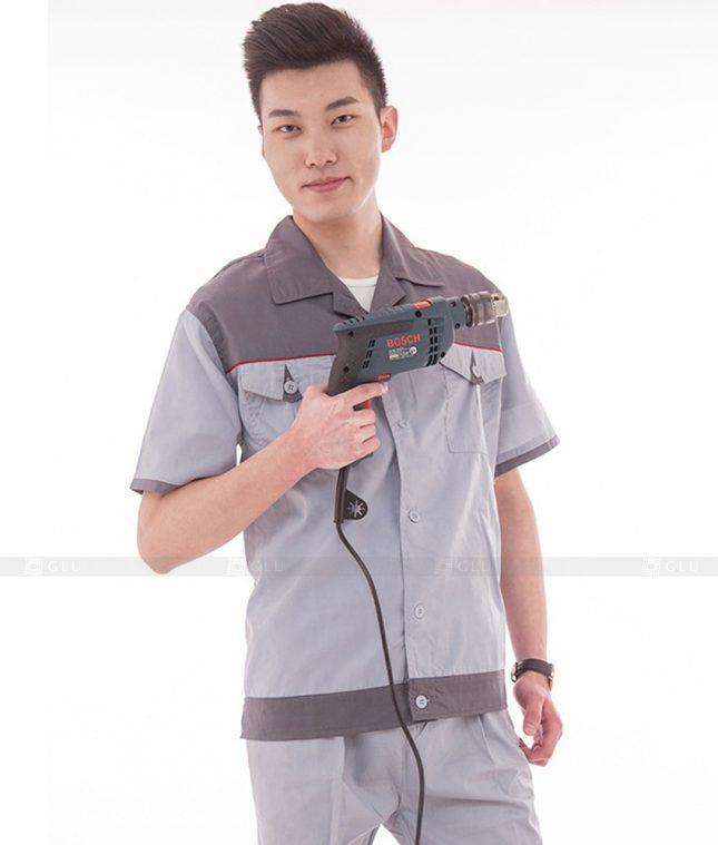 Dong phuc cong nhan GLU CN566 đồng phục công nhân kĩ thuật