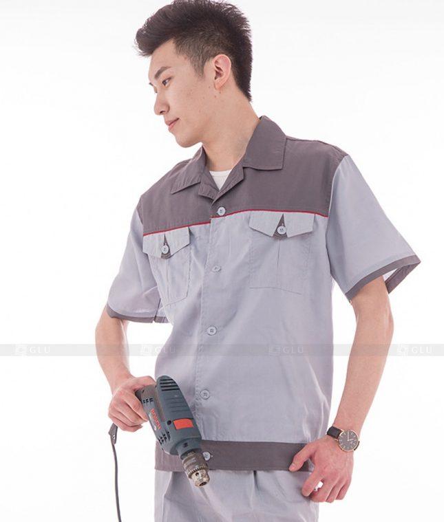 Dong phuc cong nhan GLU CN567 đồng phục công nhân kĩ thuật