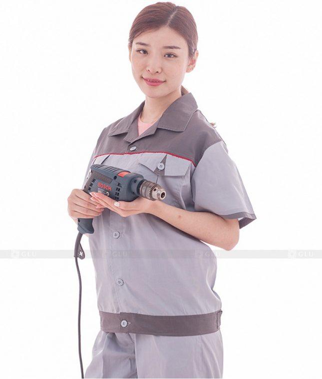 Dong phuc cong nhan GLU CN568 đồng phục công nhân kĩ thuật