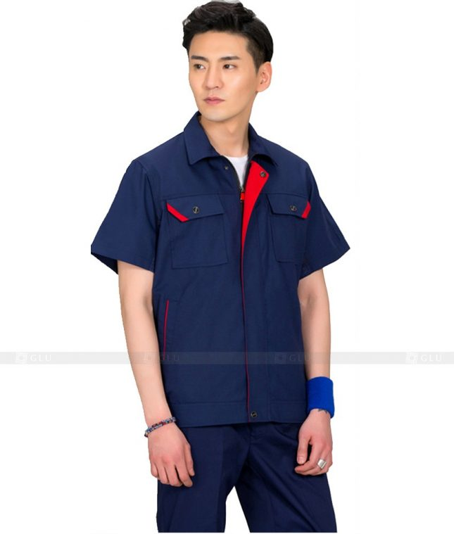 Dong phuc cong nhan GLU CN569 đồng phục công nhân kĩ thuật