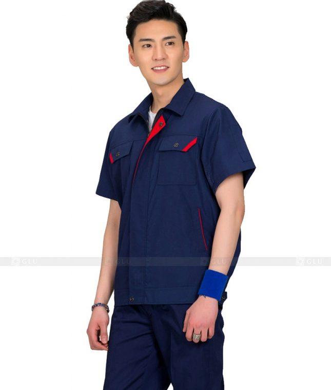 Dong phuc cong nhan GLU CN570 đồng phục công nhân kĩ thuật