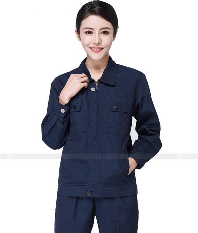 Dong phuc cong nhan GLU CN573 đồng phục công nhân kĩ thuật
