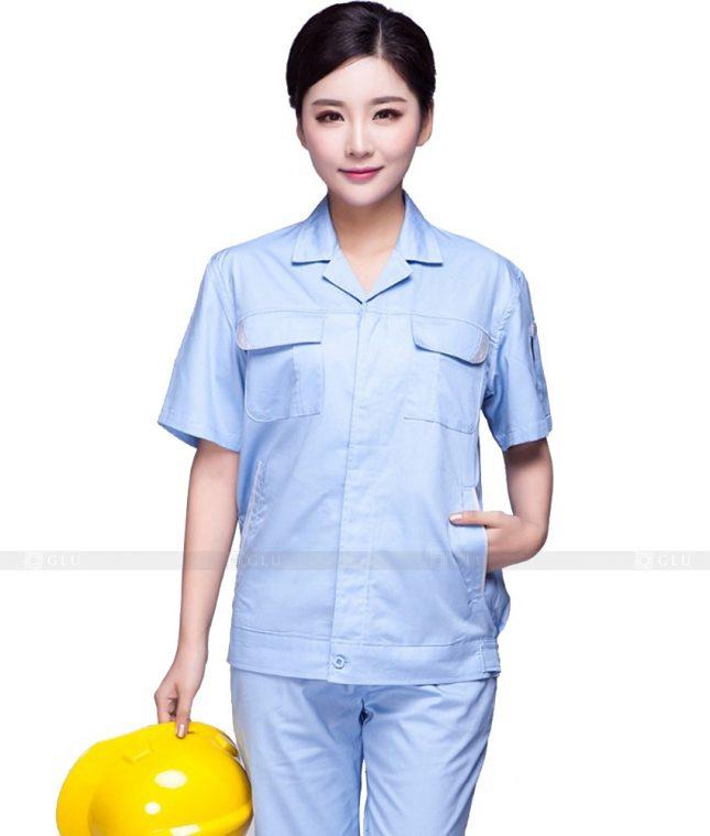Dong phuc cong nhan GLU CN574 đồng phục công nhân kĩ thuật