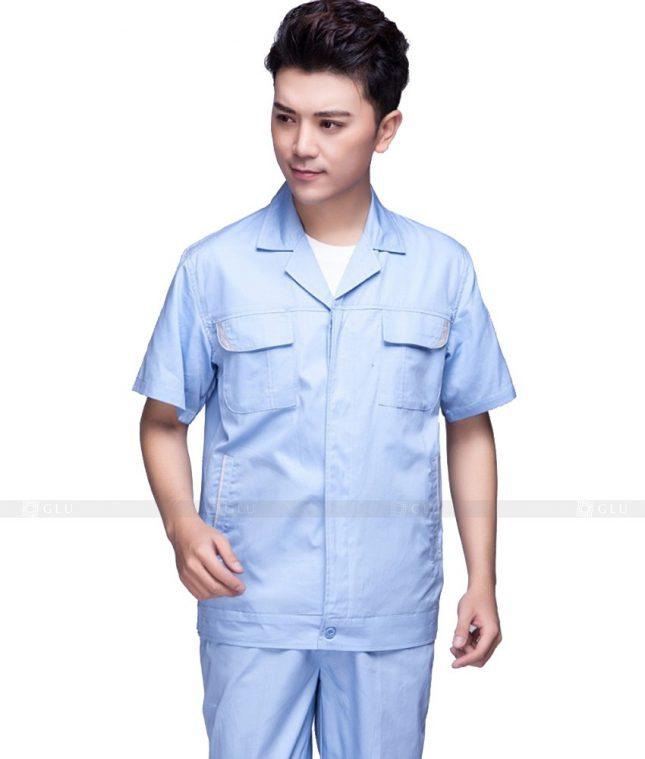 Dong phuc cong nhan GLU CN575 đồng phục công nhân kĩ thuật