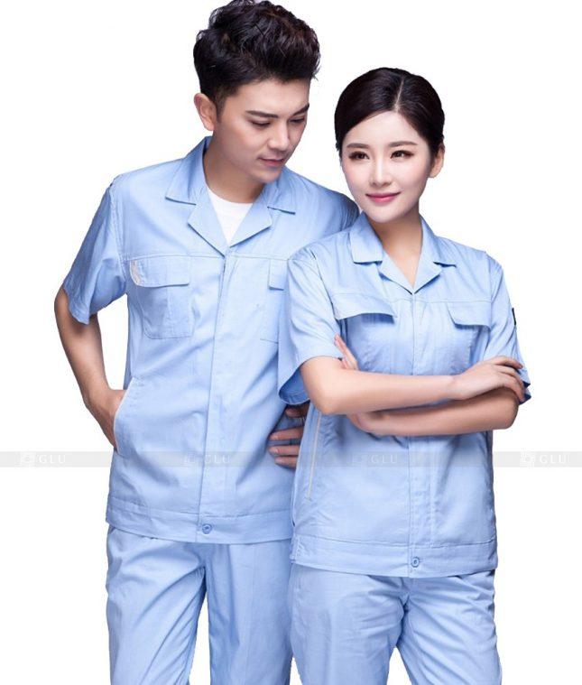 Dong phuc cong nhan GLU CN576 đồng phục công nhân kĩ thuật