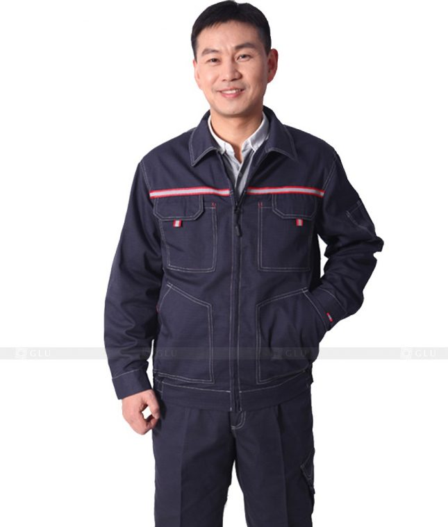 Dong phuc cong nhan GLU CN577 đồng phục công nhân kĩ thuật