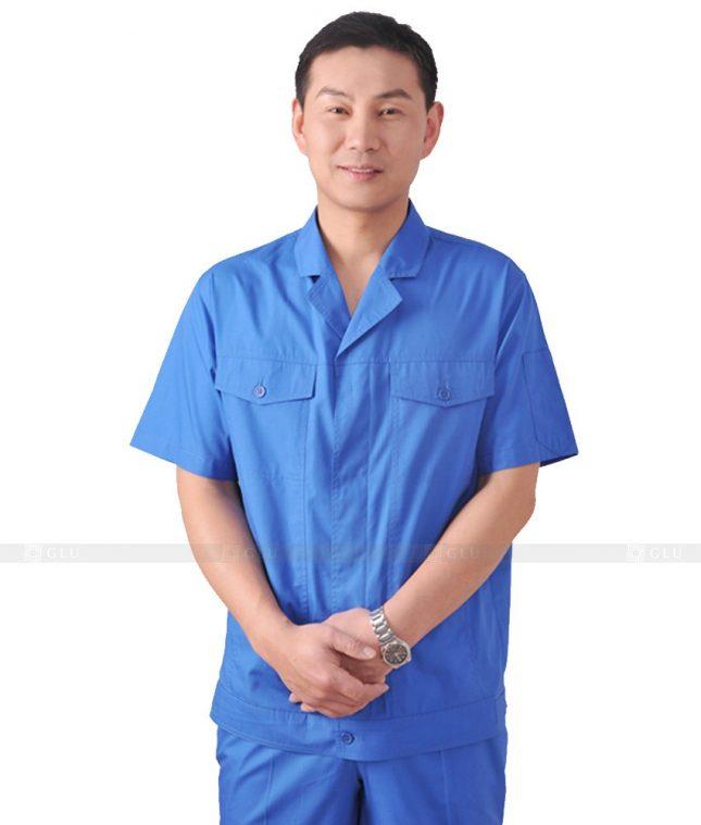 Dong phuc cong nhan GLU CN578 đồng phục công nhân kĩ thuật