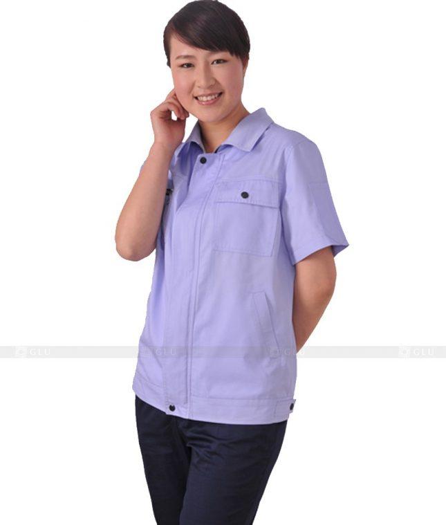 Dong phuc cong nhan GLU CN579 đồng phục công nhân kĩ thuật